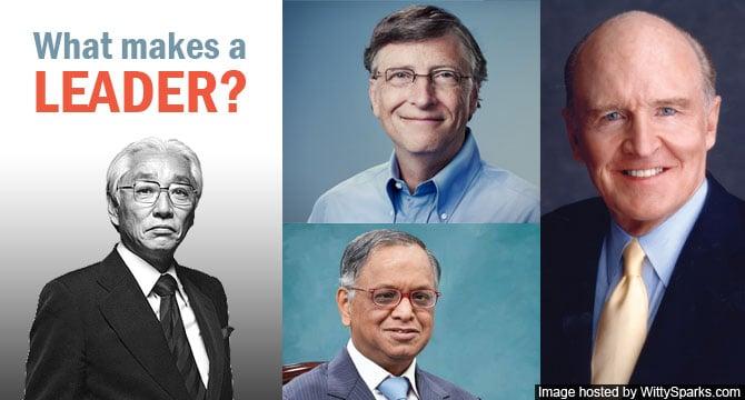 Leadership - Akio Morita, Bill Gates, N. R. Narayana Murthy, John Welch