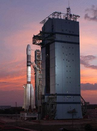 Launch Station at SriHarikota