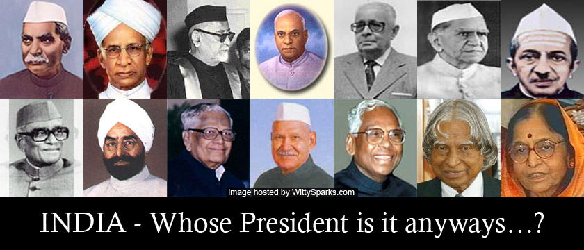 History - Presidents of India