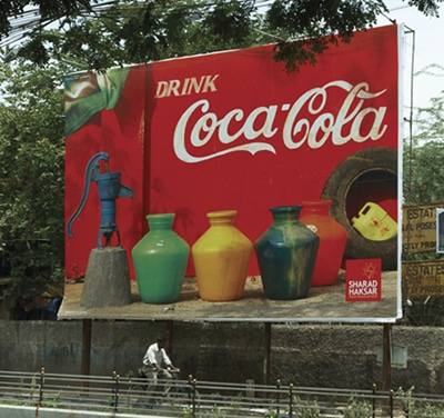 Coca Cola Ad in Rural INDIA