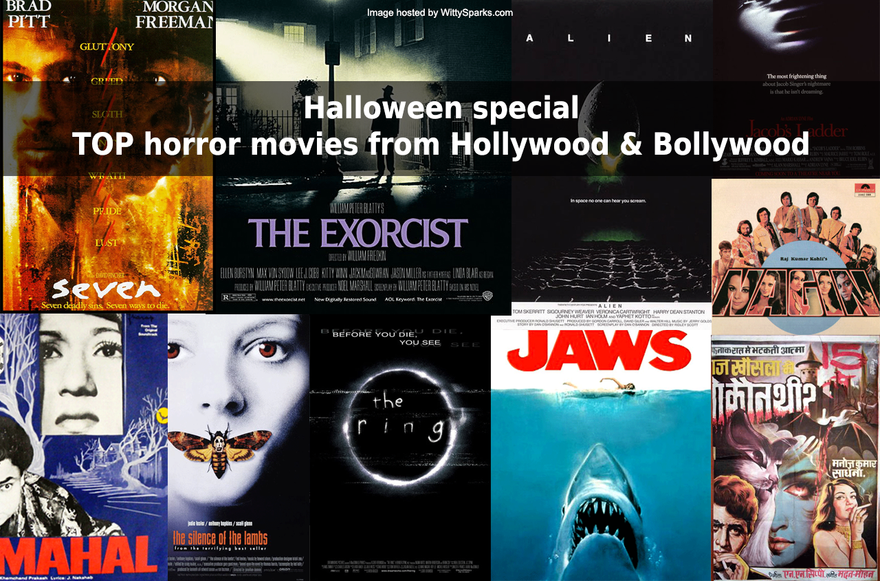Halloween - Horror Movies from Hollywood and Bollywood