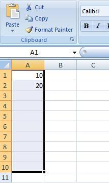 Excel Series Step 1