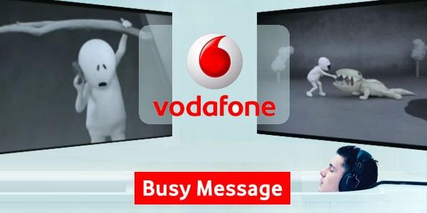 Vodafone Busy Message Caller Tunes