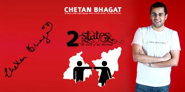 2 States novel by Chetan Bhagat