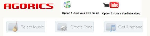 Make Your Own Ringtone - Agorics.com