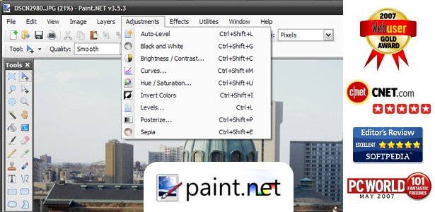 Paint.NET - Free Software for Digital Photo Editing