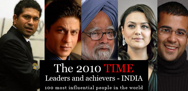 The 2010 TIME 100 Poll