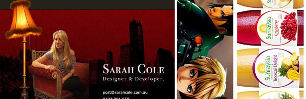 Sarah Cole Designer and Developer