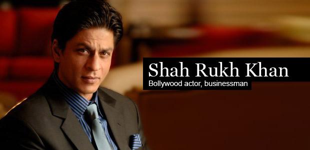 Shah Rukh Khan - Bollywood Actor & Businessman - India