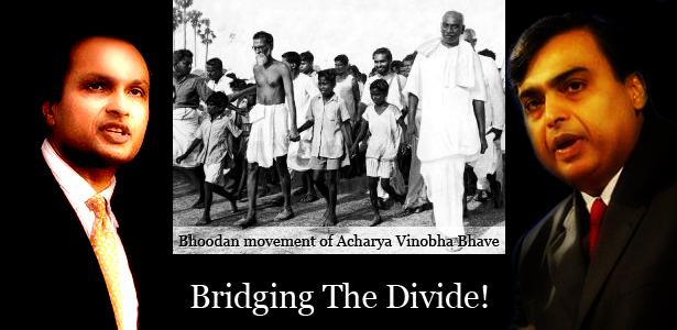 Anil Ambani & Mukesh Ambani - Bridging the Divide!