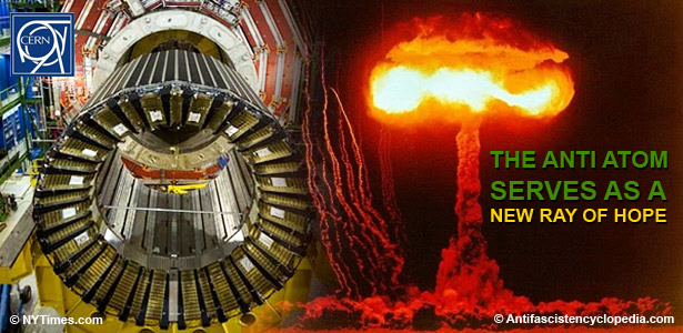 Anti-Atom solves Radioactive dump problems