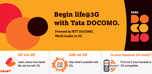 Get set for the 3G Life with Tata DOCOMO this Diwali