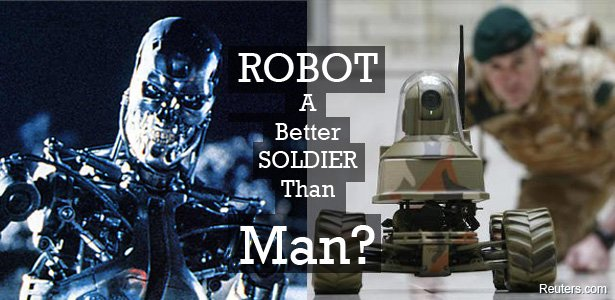 Robots to takeover the battlefield!