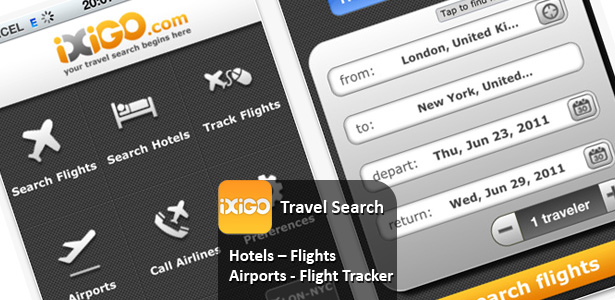 First Indian travel site iXiGO launches iPhone app for global travel search
