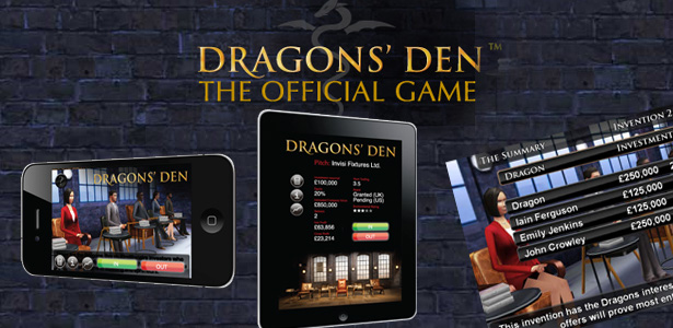 Dragons' Den the official App for iPhone and iPad