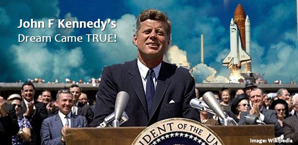 John F Kennedy's dream to reach the Moon!