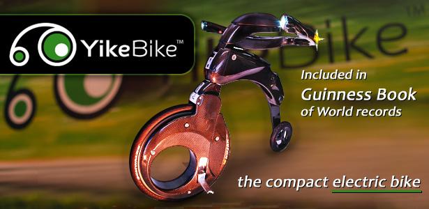 YikeBike - The world's first super light electric folding bike.   Urban Freedom