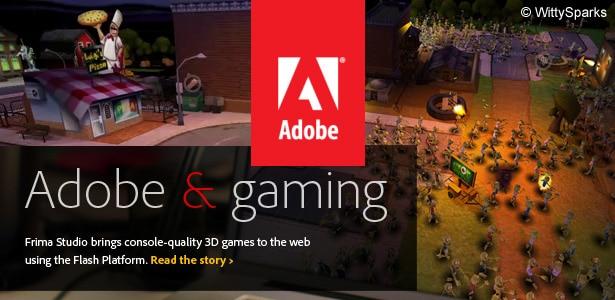 Adobe Gaming - Frima Studio 3D Flash