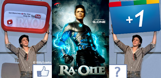 Ra.One Comes Together With Google Inc.