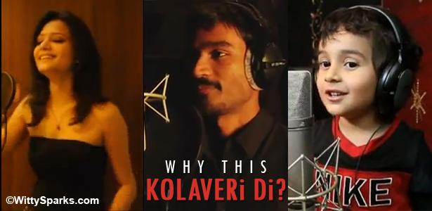 Kolaveri Di Song by Danush, Nivaan Nigam