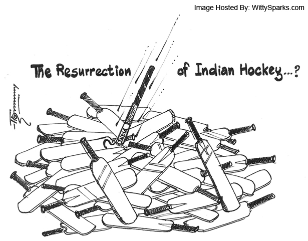 TIME FOR CRICKET TO STEP BACK AND HOCKEY TO STEP FORWARD!