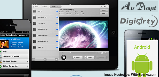 Air Playit - Streaming Video to iPhone iPad Android Anywhere