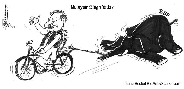 Bahujan Samajwadi Party (BSP) - Mulayam Singh Yadav