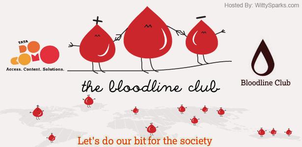 Become a Life Saver. Join Tata DOCOMO's Bloodline Club