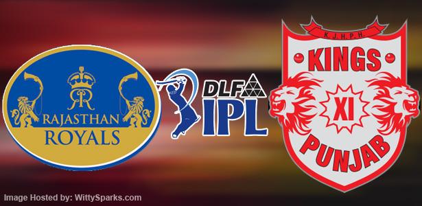 Match 4 , IPL 2012 - Rajasthan Royals defeat Kings XI Punjab comprehensively at Jaipur  Apr 6, 2012