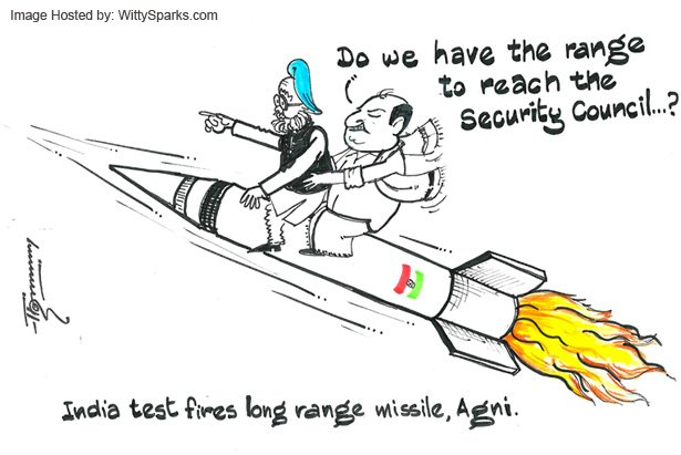 Will India succeed in convincing the Security Council about Agni-V Missile?