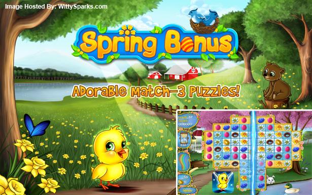 The Temperature's Rising With - Spring Bonus - Match 3 Puzzle Game