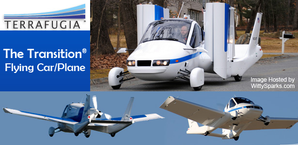 The Transition - The futuristic Flying car by Terrafugia Inc.