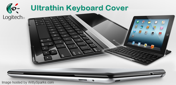 Logitech Ultrathin Keyboard Cover for iPad only for $100