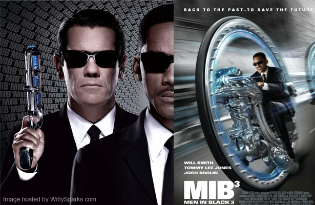 The unbeatable position of The Avengers now threatened by Men In Black 3