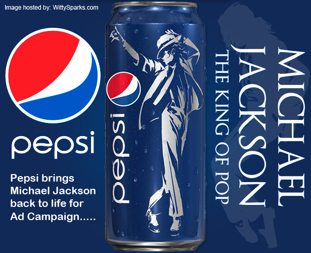 Pepsi Bring Michael Jackson back to Life with its new Campaign