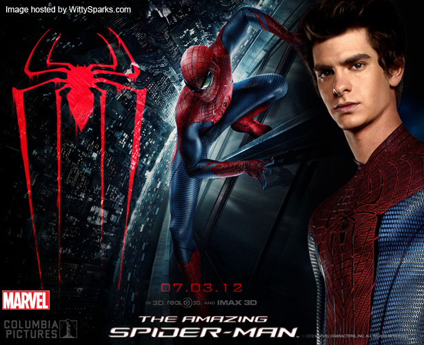 The Amazing Spider-Man in 3D this July 2012