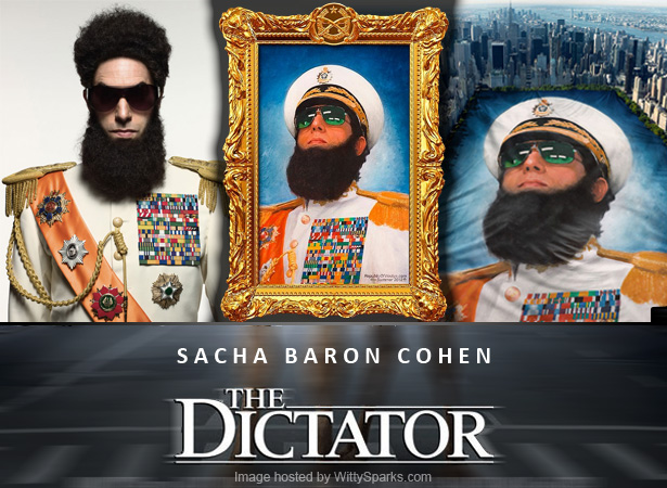 Watch 'The Dictator' on 16th May 2012