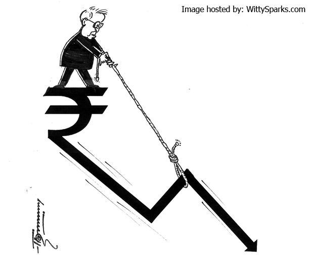 Indian Rupee Fading Away Into Insignificance?