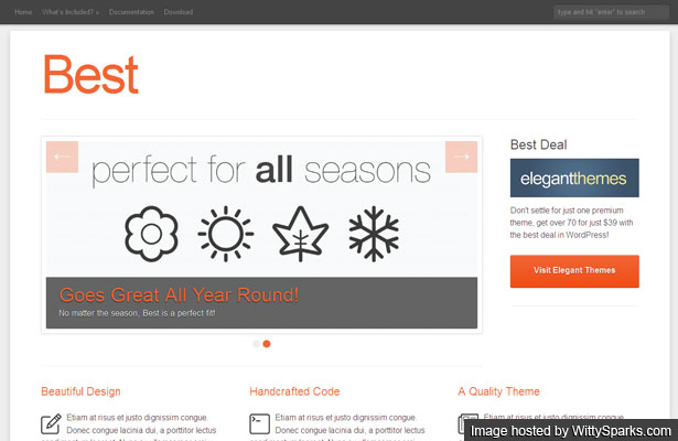 Best Theme - A Beautiful, Responsive Theme for WordPress Sites