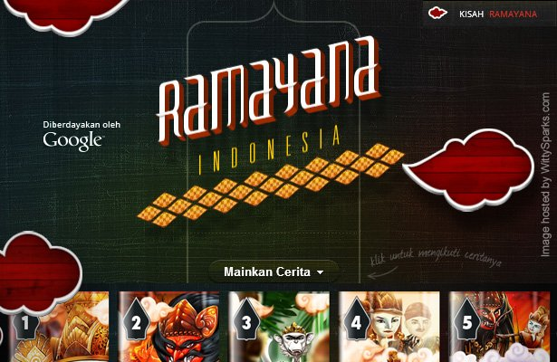 Google Version of Great Epic Ramayana in Indonesia
