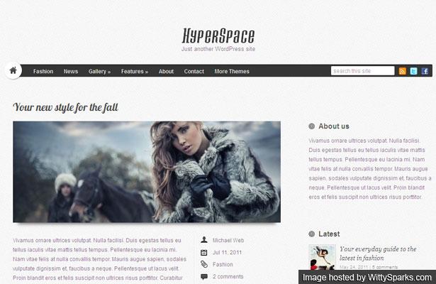 HyperSpace - Premium WordPress Theme