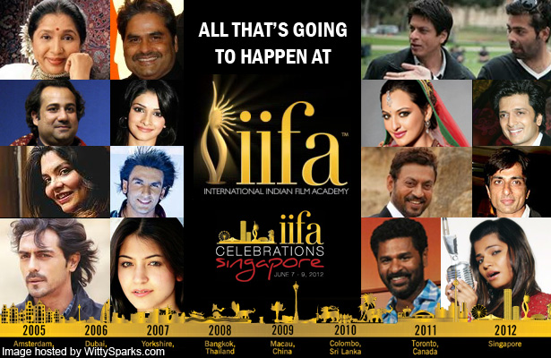 All that's going to happen at IIFA!