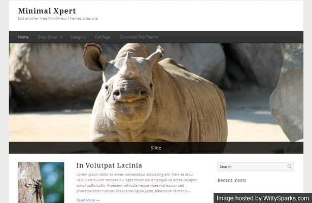 Minimal Xpert Free WordPress Theme