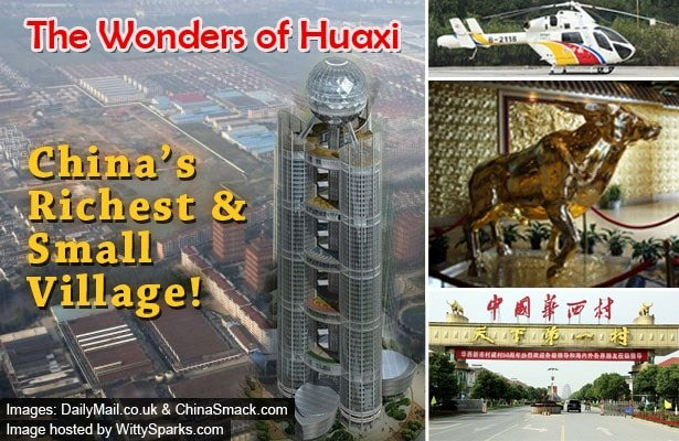 China's small and richest village Huaxi, A big sensation!