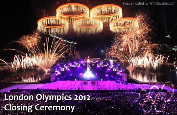 London celebrates the end of The Olympic Games - Closing Ceremony