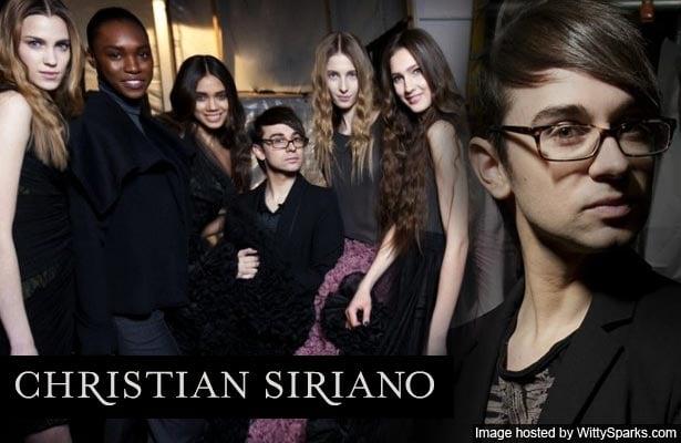 Christian V. Siriano - Fashion Designer