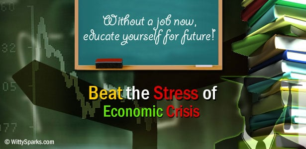 Without a job now, educate for future!