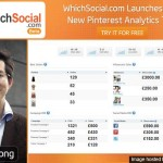 WhichSocial.com Launches With New Pinterest Analytics Tool