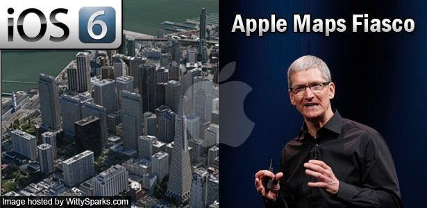 Apple iOS 6 Maps App Fiasco