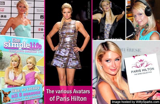 The various Avatars of Paris Hilton